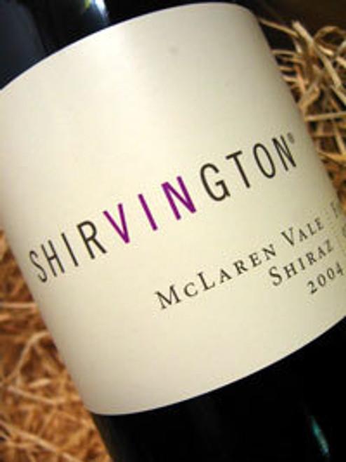 Shirvington Shiraz 2003