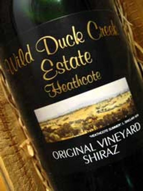 Wild Duck Creek Original Shiraz 2001 1500mL
