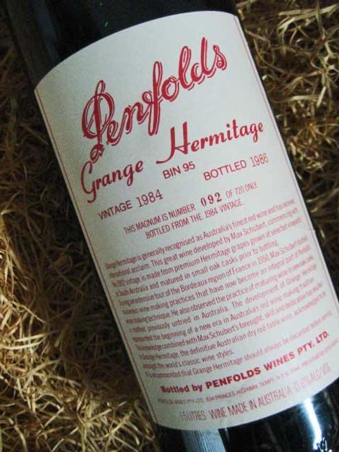 Penfolds Grange 1984 1500mL