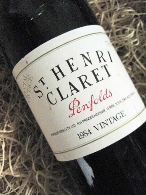 [SOLD-OUT] Penfolds St Henri 1984 (Very High Shoulder Level)