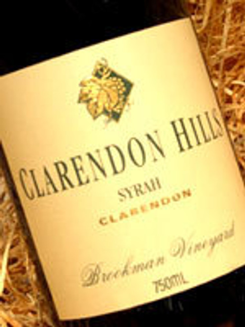Clarendon Hills Brookman Shiraz 1999