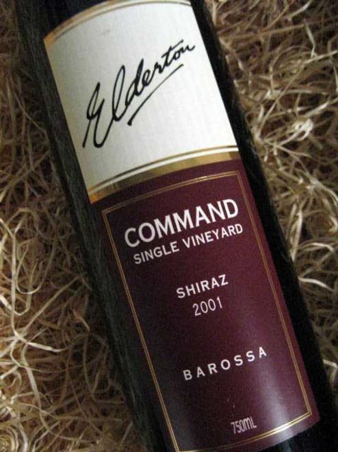 Elderton Command Shiraz 2001