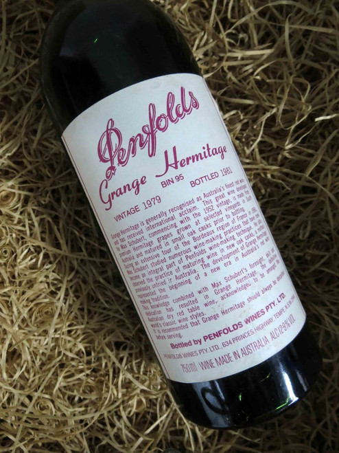 [SOLD-OUT] Penfolds Grange 1979 (Base of Neck Level) (Damaged Label)