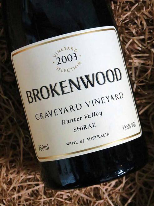 [SOLD-OUT] Brokenwood Graveyard Shiraz 2003