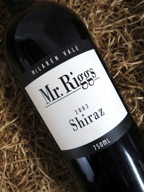 [SOLD-OUT] Mr Riggs Shiraz 2002