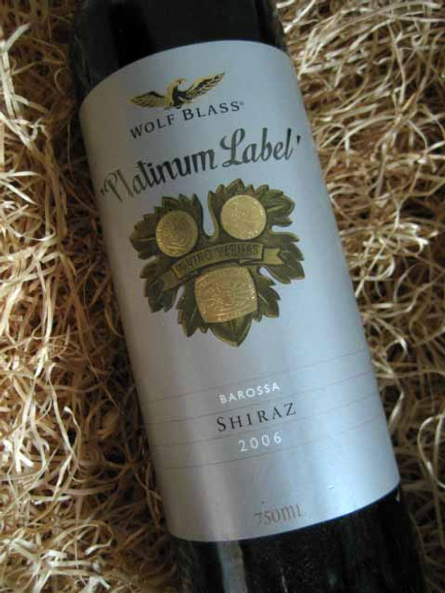 Wolf Blass Platinum Label Shiraz 2006