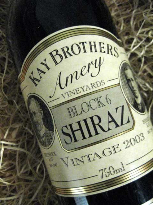 Kay Brothers Block 6 Shiraz 2003