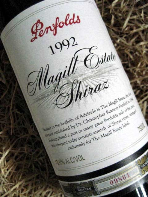 [SOLD-OUT] Penfolds Magill Shiraz 1992 (Base of Neck Level)