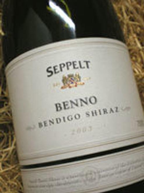 Seppelt Benno Shiraz 2003