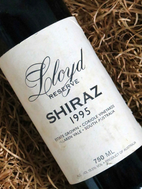 [SOLD-OUT] Coriole Lloyd Reserve Shiraz 1995 (Damaged Label)