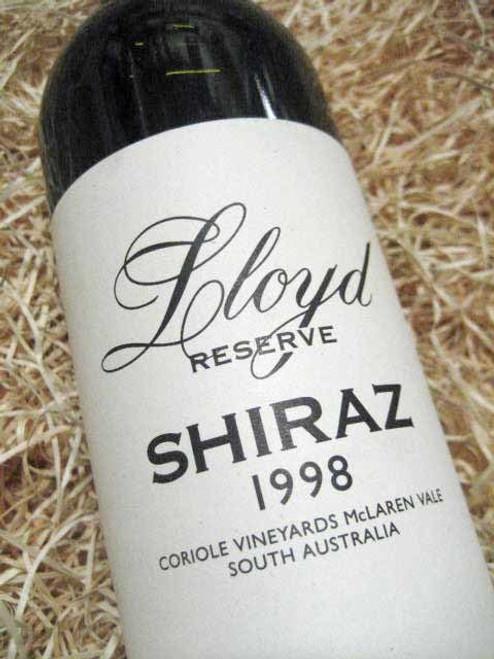 Coriole Lloyd Reserve Shiraz 1998