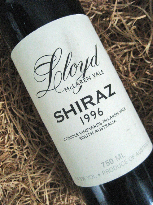 [SOLD-OUT] Coriole Lloyd Reserve Shiraz 1996