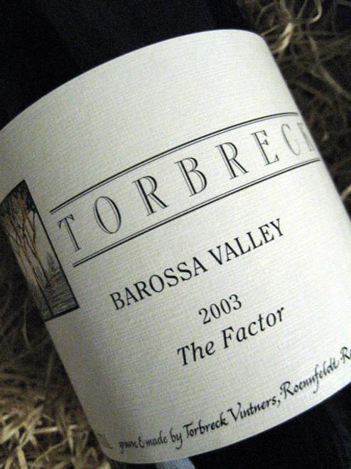 Torbreck The Factor Shiraz 2003