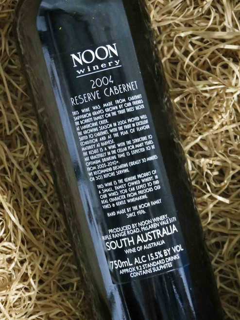 [SOLD-OUT] Noon Winery Reserve Cabernet Sauvignon 2004
