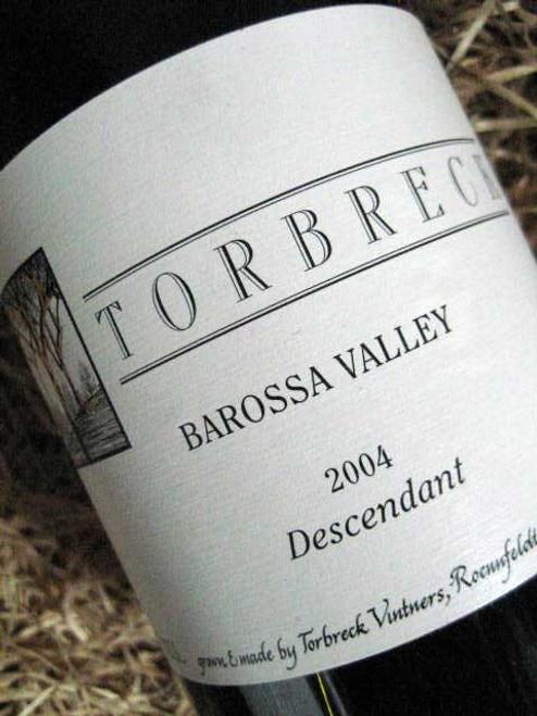 Torbreck Descendant Shiraz Viognier 2004