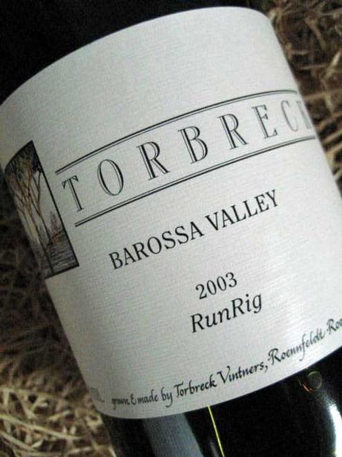 Torbreck Run Rig Shiraz 2003
