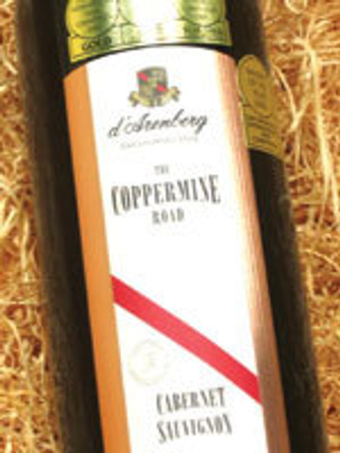 d'Arenberg Coppermine Road Cabernet Sauvignon 1998