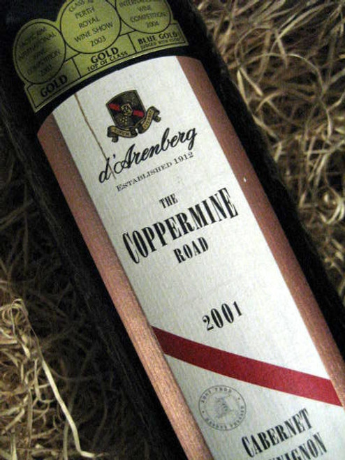 d'Arenberg Coppermine Road Cabernet Sauvignon 2000
