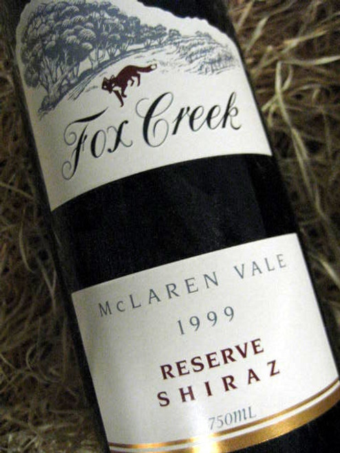 Fox Creek Reserve Shiraz 1999