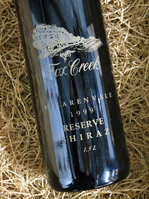 [SOLD-OUT] Fox Creek Reserve Shiraz 1999 1500mL-Magnum