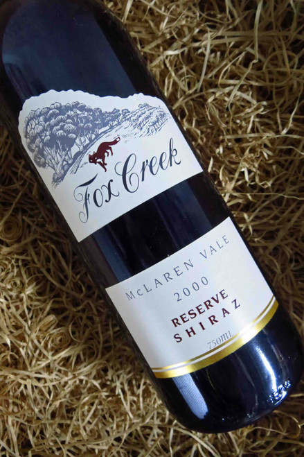 [SOLD-OUT] Fox Creek Reserve Shiraz 2000