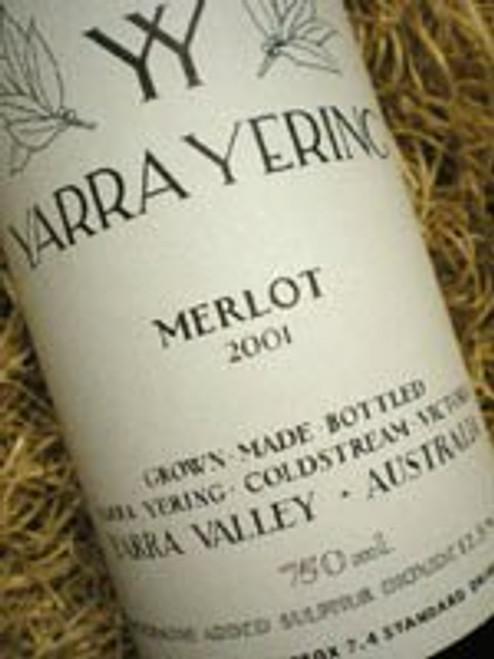 Yarra Yering Merlot 2001