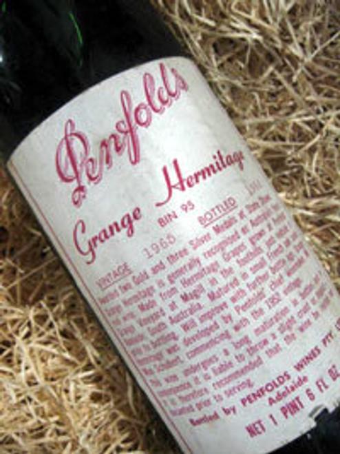 Penfolds Grange 1965 (Minor Damaged Label)
