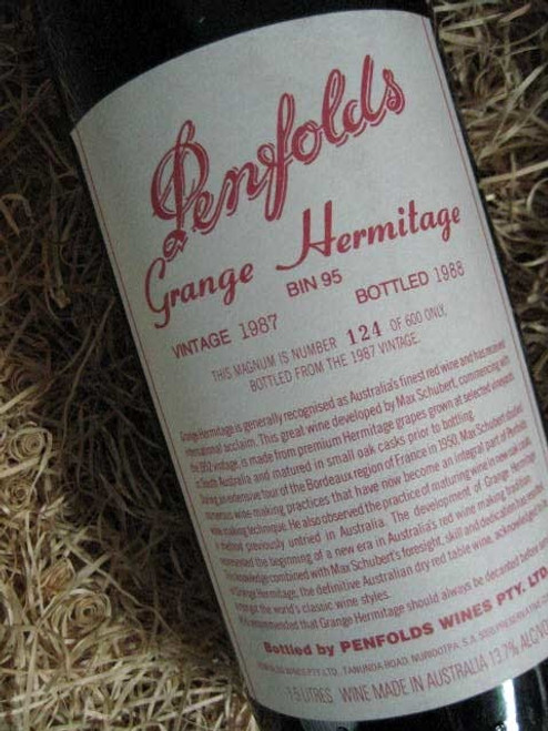 Penfolds Grange 1987 1500mL