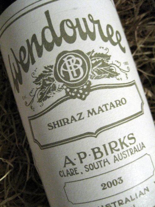 Wendouree Shiraz-Mataro 2003
