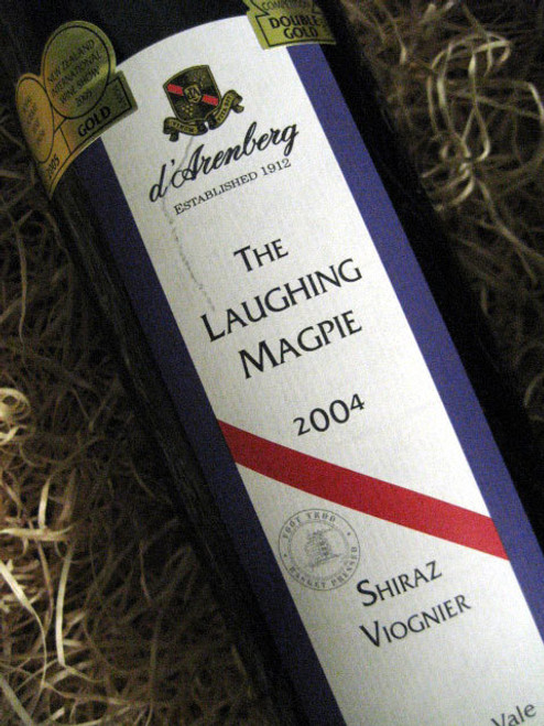 d'Arenberg Laughing Magpie Shiraz Viognier 2004