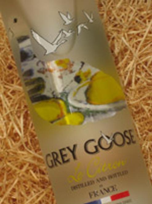 Grey Goose Vodka L'Citron 700mL