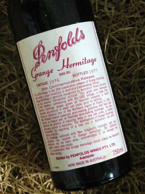 Penfolds Grange 1976 (Very High Shoulder Level)