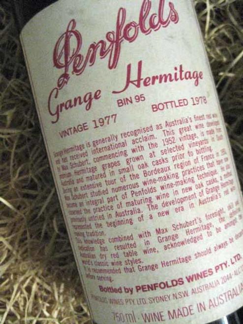 Penfolds Grange 1977