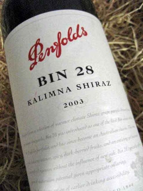 [SOLD-OUT] Penfolds Bin 28 2003