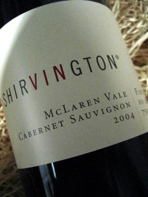 Shirvington Cabernet Sauvignon 2004