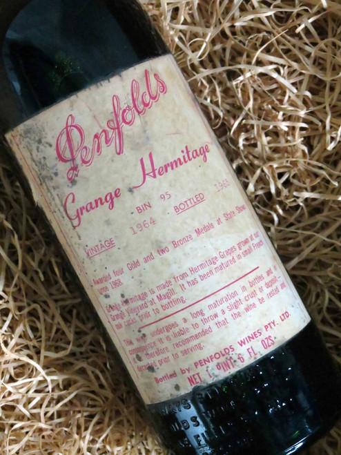 [SOLD-OUT] Penfolds Grange 1964 (Damaged Label)