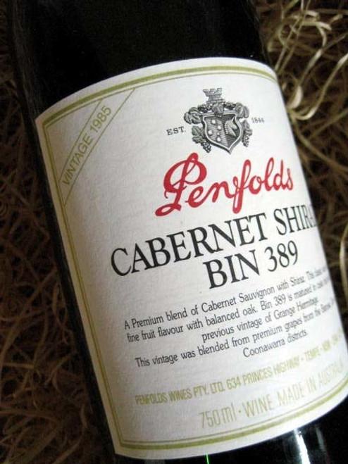 Penfolds Bin 389 1985 (Damaged Label)