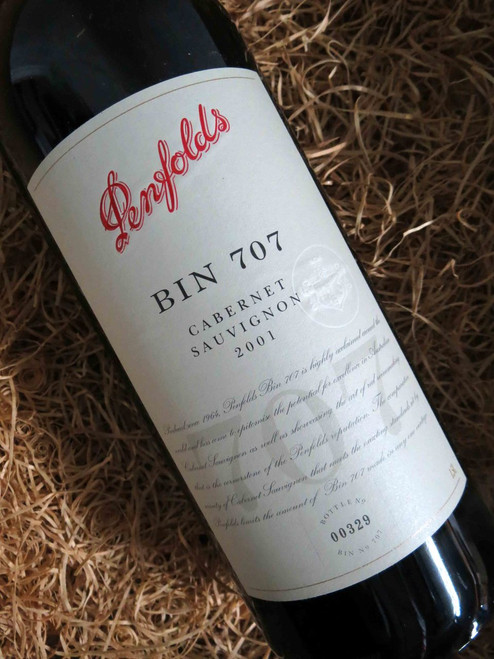 [SOLD-OUT] Penfolds Bin 707 2001 1500mL-Magnum