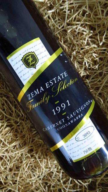 [SOLD-OUT] Zema Estate Family Selection Cabernet Sauvignon 1991