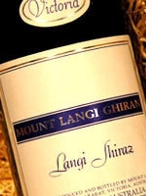 Mount Langi Ghiran Langi Shiraz 2003