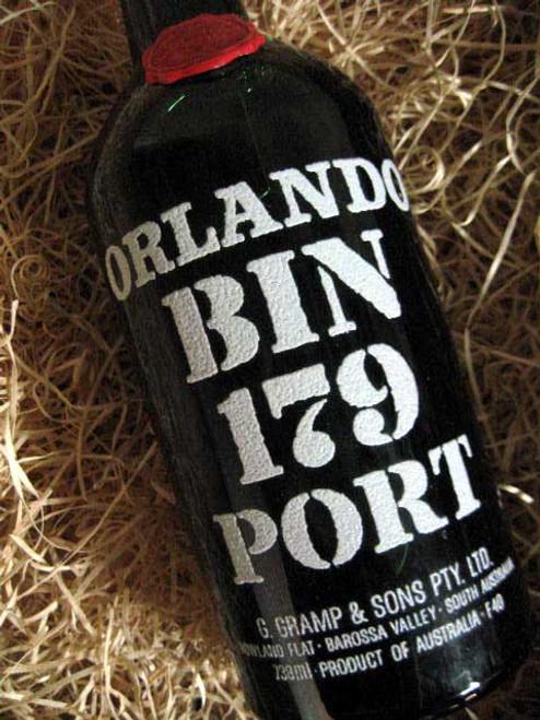 Orlando Tawny Port 1968 Bin 179 (Damaged Label) (Base of Neck Level)