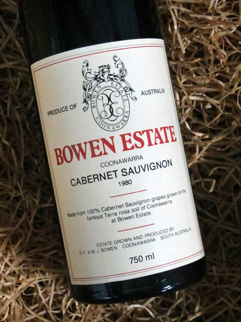[SOLD-OUT] Bowen Estate Cabernet Sauvignon 1980