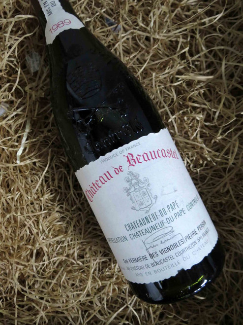 [SOLD-OUT] Chateau de Beaucastel Chateauneuf-du-Pape 1989