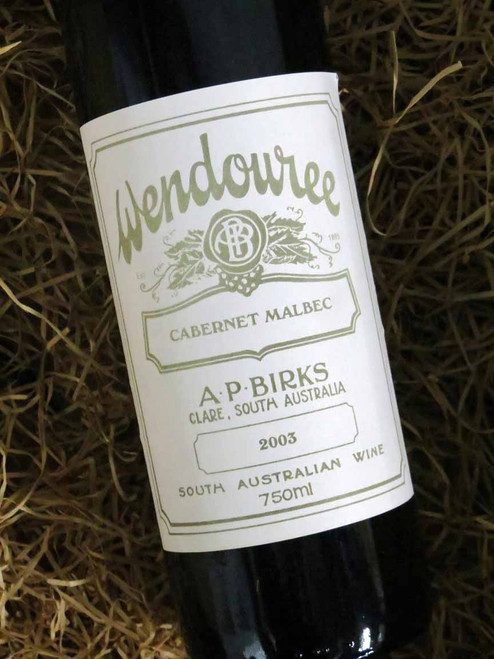 [SOLD-OUT] Wendouree Cabernet Malbec 2003