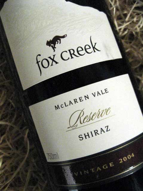 Fox Creek Reserve Shiraz 2004