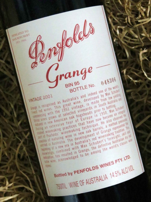 [SOLD-OUT] Penfolds Grange 2001