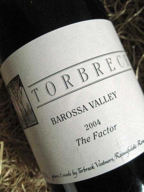 [SOLD-OUT] Torbreck The Factor Shiraz 2004