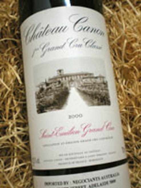 Chateau Canon Grand C Classe St Emilion 2000