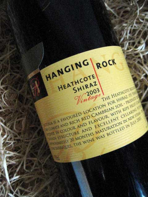Hanging Rock Heathcote Shiraz 2003