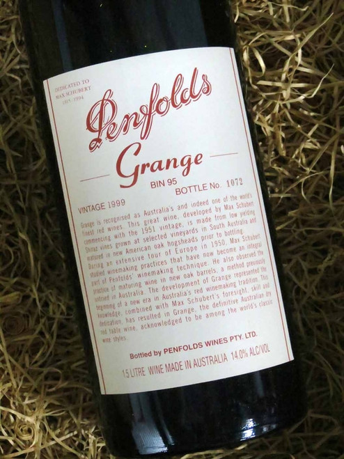[SOLD-OUT] Penfolds Grange 1999 1500mL-Magnum